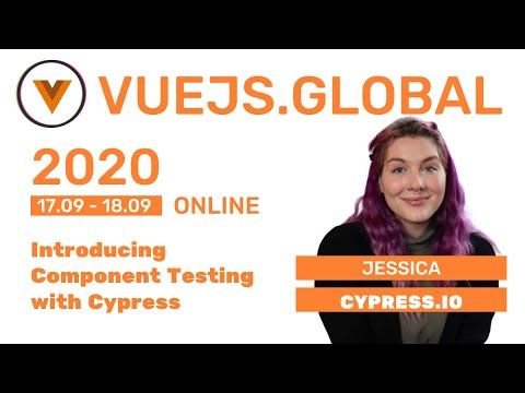 Image thumbnail for talk Introducing Component Testing with Cypress