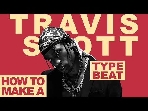How To Make a Travis Scott Type Beat (FL Studio Tutorial)