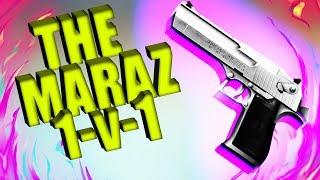 THE MARAZ İLE 1V1 DESERT EAGLE KAPIŞMASI l ZULA #5