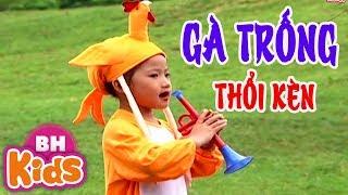 Gà Trống Thổi Kèn ♫ Nhạc Thiếu Nhi Vui Nhộn Cho Bé