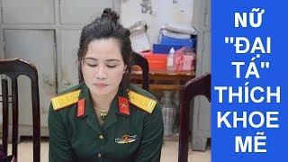 Hà Nội: Bắt nữ ĐẠI TÁ quân đội xinh đẹp!!!
