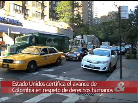 Estados Unidos certifica el avance de Colombia en respeto de derechos humanos