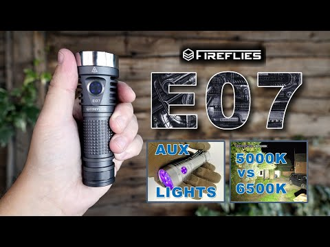 Fireflies E07 - 6900 Lumens EDC Flashlight!