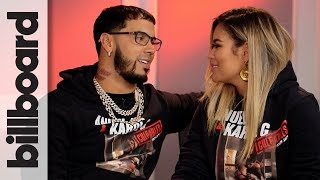 Anuel Aa & Karol G Discuss Touring Together, Their First Kiss On Stage & More  Billboard
