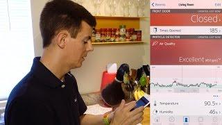 Review: HomeKit Air Quality Sensor - Eve Room