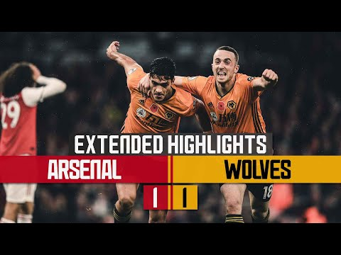 Raul earns Wolves a point!   Arsenal 1-1 Wolves   Extended highlights