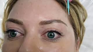 Shape Correction Microblading over old tattoo by El Truchan @ Perfect Definition