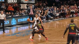 Jeremy Lin Highlights - 4/2/17 Hawks at Nets