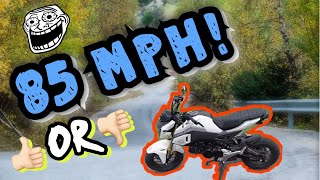 honda grom top speed - TH-Clip