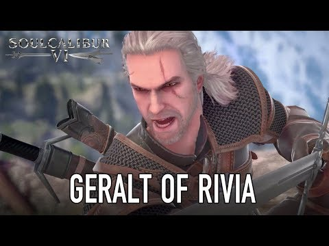 Présentation Geralt de Riv de SoulCalibur VI