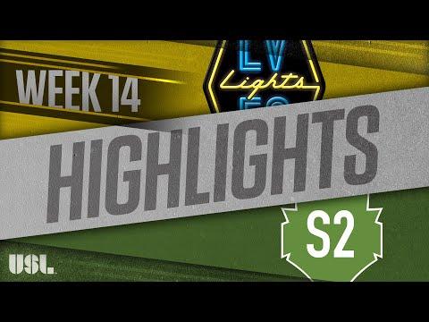 Las Vegas Lights - Seattle 2 4:1. Видеообзор матча 17.06.2018. Видео голов и опасных моментов игры