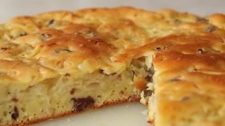 Вкусный Заливной Пирог Без Возни с Тестом + Рецепт Самого Удачного Теста для Заливного Пирога