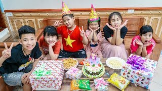 Kids Go To School | Birthday of Chuns Happy And Memorable Home Party With Friends