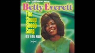 Betty Everett ~ The Shoop Shoop Song (It's in His Kiss)  (1964)