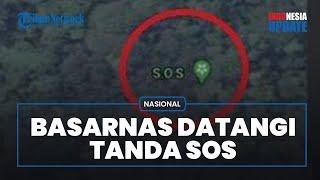 Titik SOS di Pulau Laki Didatangi SAR setelah Viral Disebut Ada Korban SJ182 Selamat, Ini Kondisinya