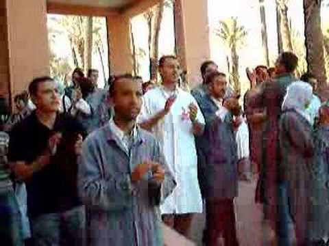 grève des urgences à marrakech 3ème jour (4)