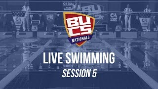 BUCS Nationals 2019 | Swimming Session 5