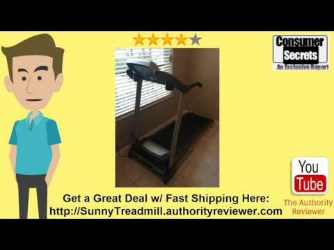 [Review & SALE] Sunny Health & Fitness Treadmill SF-T4400