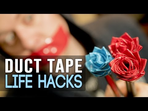 Make A Collapsible Water Cup Or Dog Bowl Out Of Duct Tape