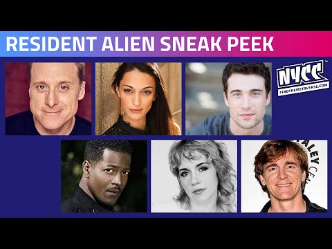 SYFY's Resident Alien – Sneak Peek & Panel Featuring Executive Producer and Cast