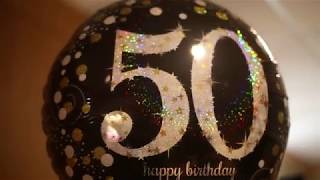 Anthonys 50th Birthday Party Highlights