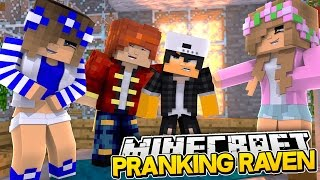 TRICKING LEO AND RAVEN | BODYSWAP Minecraft Royal Family w