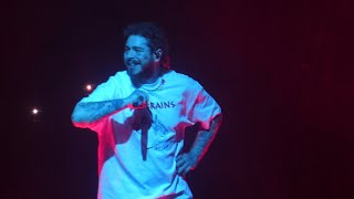 """""""Goodbyes & Die for Me & Allergic & Candy Paint"""" Post Malone@Washington DC 2/27/20"""