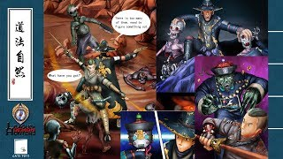 GATE TOYS League of Demon Hunters Chapter 2 backstory comic strip