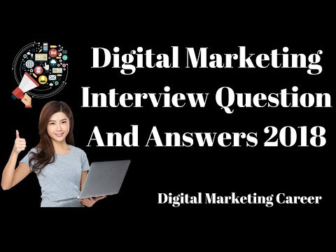 Digital Marketing interview Question And Answers 2018