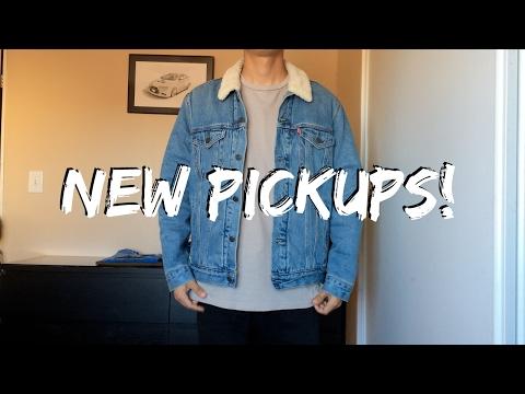 New PickUps! (Levi's Sherpa Jackets, Flannels, H&M Zipper Pants & More!)