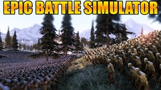 UEBS - EPIC 50000 ORCS VS 50000 ZOMBIES BATTLE & MORE! | Ultimate Epic Battle Simulator Gameplay