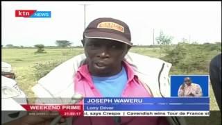Nine men burnt to death after a matatu caught fire along Mai Mahiu road