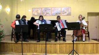 Nõmme Muusikakooli õpilased – jõulud 2013