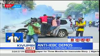 NASA continue with demos days before the October 26th repeat polls