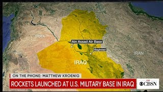 "Iran has launched ""more than a dozen"" ballistic missiles against at least two military bases housing U.S. forces in Iraq. The Pentagon on Tuesday confirmed the attacks in a statement, and said, ""It is clear that these missiles were launched from Iran and targeted at least two Iraqi military bases hosting U.S. military and coalition personnel at Al-Assad and Irbil."" Live updates here: https://www.cbsnews.com/live-updates/iran-news-qassem-soleimani-funeral-deaths-today-revolutionary-guard-threatens-us-allies-live-updates-2020-01-07/  -- Subscribe to the CBS News Channel HERE: http://youtube.com/cbsnews Watch CBSN live HERE: http://cbsn.ws/1PlLpZ7c Follow CBS News on Instagram HERE: https://www.instagram.com/cbsnews/ Like CBS News on Facebook HERE: http://facebook.com/cbsnews Follow CBS News on Twitter HERE: http://twitter.com/cbsnews  Get the latest news and best in original reporting from CBS News delivered to your inbox. Subscribe to newsletters HERE: http://cbsn.ws/1RqHw7T  Get your news on the go! Download CBS News mobile apps HERE: http://cbsn.ws/1Xb1WC8  Get new episodes of shows you love across devices the next day, stream CBSN and local news live, and watch full seasons of CBS fan favorites like Star Trek Discovery anytime, anywhere with CBS All Access. Try it free! http://bit.ly/1OQA29B  --- CBSN is the first digital streaming news network that will allow Internet-connected consumers to watch live, anchored news coverage on their connected TV and other devices. At launch, the network is available 24/7 and makes all of the resources of CBS News available directly on digital platforms with live, anchored coverage 15 hours each weekday. CBSN. Always On."
