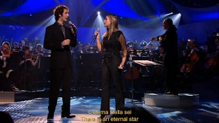 "Charlotte Church: ""The Prayer"" (2001). Live, HD, lyrics, translation, subtitles."