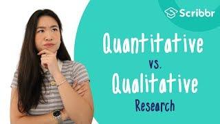 What is true about quantitative versus qualitative research