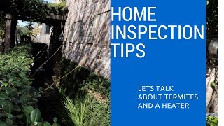 Home Inspector Tips