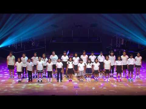 7月21日 こんにちは!ふくしま!希望のコンサート 庭坂小学校合唱部