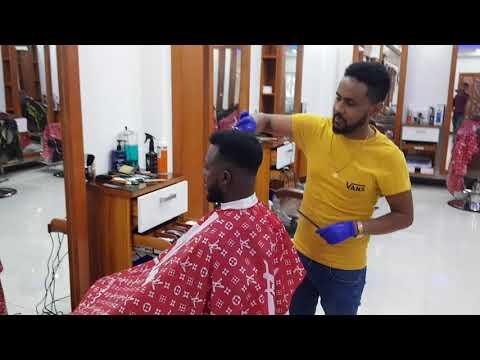 Ethiopiawi Asge @ Adolis Barber shop አስጌ አዶሊስ ፀጉር ቤት