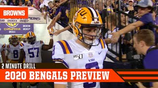 A Look At The 2020 Cincinnati Bengals | 2 Minute Drill