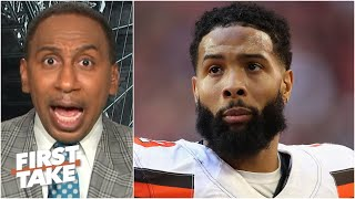 Stephen A. is 'annoyed' by Odell Beckham saying the NFL season shouldn't happen | First Take