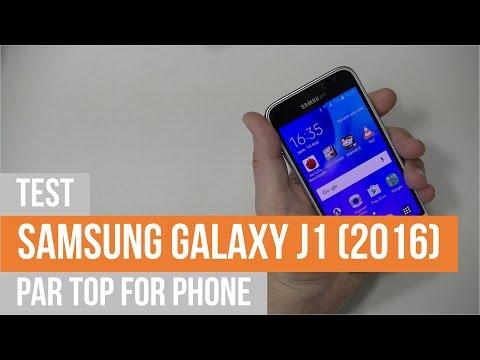 SAMSUNG GALAXY J1 (2016) - test par TFP