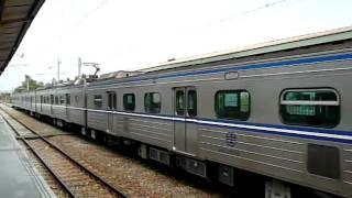 EMU600The Local train arrives at Dounan Station