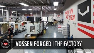 Vossen Forged Wheels | How It's Made Part 1 of 5 | The Factory Overview #madeinmiami