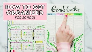 How To Get Organized For School | Plan With Me