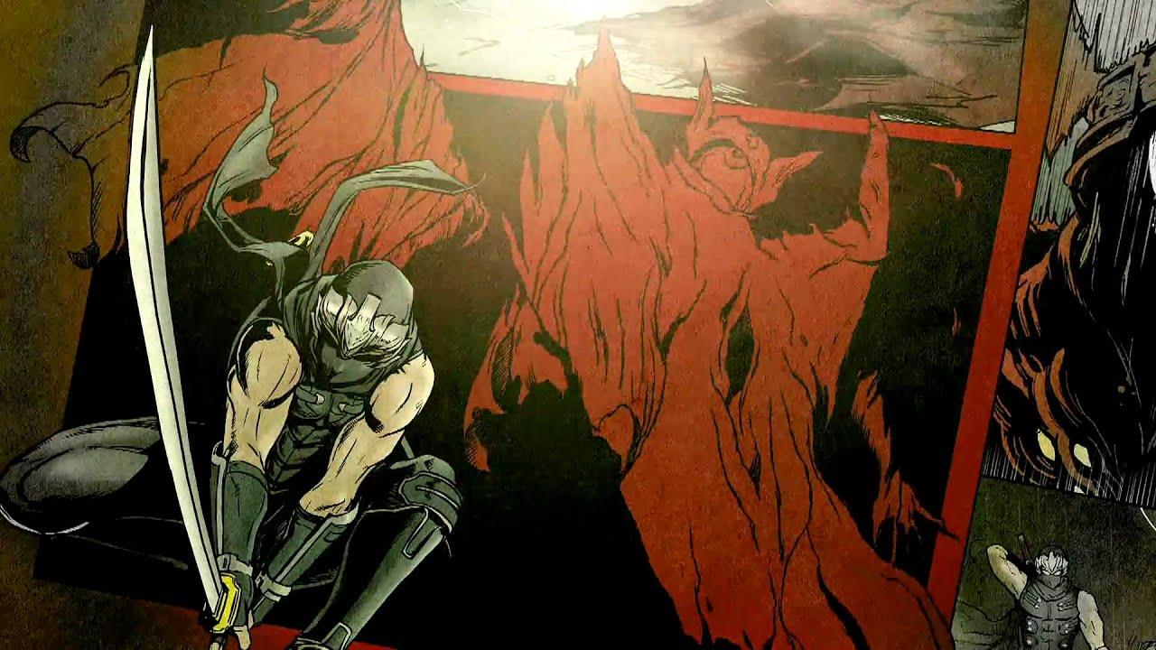 Ninja Gaiden Sigma 2 In Comic Book Trailer Form