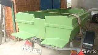 Установка на катер транцевых плит