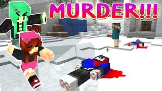 Murder with SallyGreen   My Stolen Identity!   Minecraft Partyzone Server