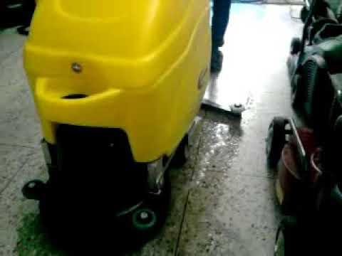 Compact Mini Scrubber Drier
